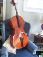the new cello by awakeandsleeping