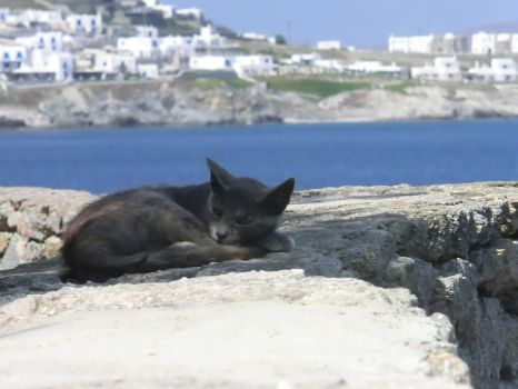 Mykonos sleep 2 by ValerieLaFey