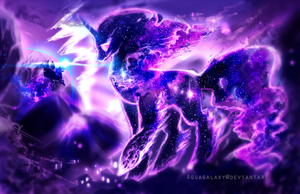 MLP: Guardian of dreams by AquaGalaxy