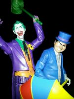 Joker and Penguin by ayelid