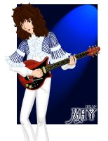 Brian May by LelioCakes