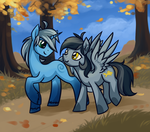 Autumn walk by DragonAtaxia