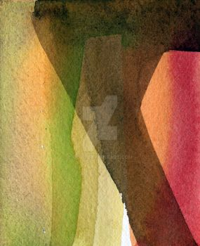 Experimenting with watercolours VII by Guvy