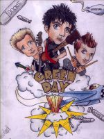 Green Day by naunet