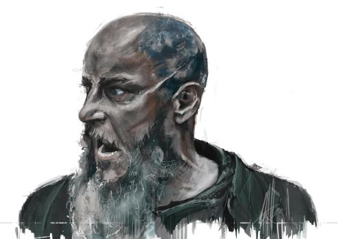 Ragnar Lothbrok by Irishmellow