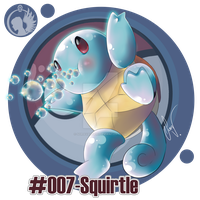 #007- Squirtle by SoraValtieri