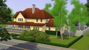 Sims 3 Large Family home by RamboRocky