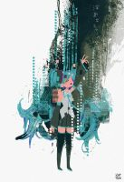 the disappearance of hatsune miku by chuwenjie