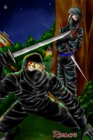 If they were...Ninjas by Reenave