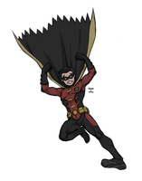 Tim Drake a.k.a Robin by 773HER