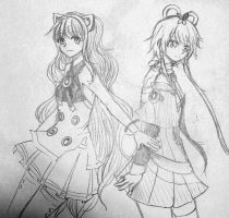 SeeU and Luo by lellibel