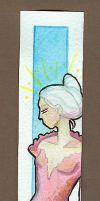 untitled - bookmark by DawnstarW