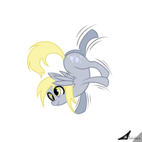 Simply Derpy by retrokidz