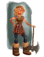 Astrid Painting by scotlanddbarnes