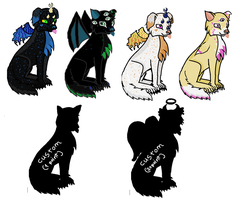 FREE Canine Adoptables Supernatural Batch--CLOSED- by Roxie-the-Charizard