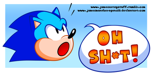 The Sonic Head Says . . . by JamesmanTheRegenold