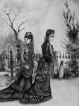 Mourning Ladies - AP Art Concentration by GraveyardBat