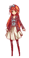 Pixel Commission 4 - Emily by Nyanfood