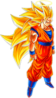 Goku SS3 4 by alexiscabo1