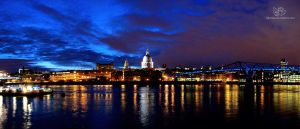 London skyline by Lykorias