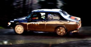 Saab Rally by qmorley