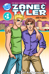 'Zane and Tyler' Issue 1 Cover by Boy-Meets-Hero