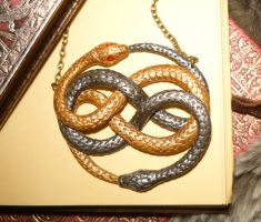 AURYN - handsculpted Amulet with Gemstones by Ganjamira