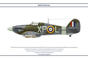 Hurricane GB 174 Sqn by WS-Clave