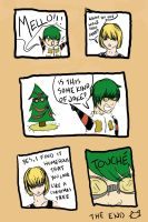 A Death NOte Christmas by smilelykitty418
