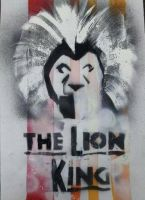 Poster for the lion king musical play by toutam98