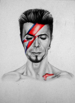 Aladdin Sane 2 by Mons by therealdavidbowie