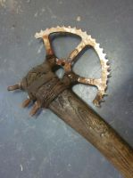 Post apocalyptic prop axe * close up * by BloodworxSander