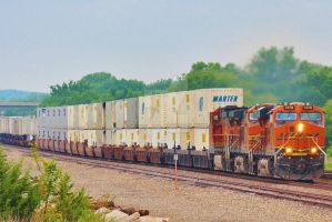 BNSF 7278 east. by Railphotos