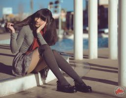 Zettai Ryouiki Photo Concept  by @fanored by FanoRED