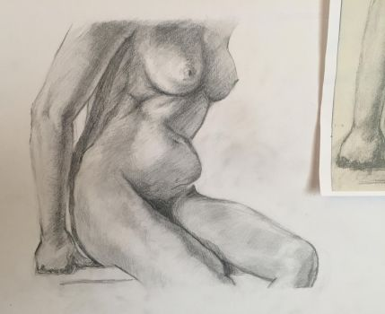 Figure drawing by atolyepelin