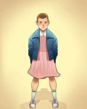 Stranger Things: Eleven by SatiricalKat