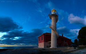 Lighthouse at Puntamika by ivancoric