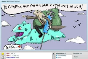 iscribble REPO meets pokemon by Thylacyanide