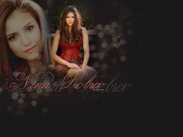 Nina Dobrev 3. by creature-in-night