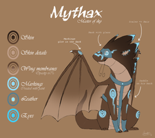 Mythax, pirate's pet by Bimmerd