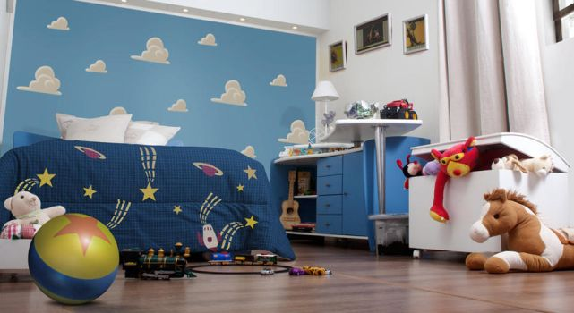 Toy Story Background by Karllis