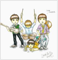 Beatles: Gear Sweater by Kumu18