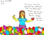 Paige's Egg Haul by AnthroLoverJay