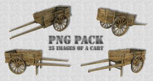 Cart, PNG Pack by fumar-porros