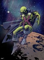 Martian Manhunter by n3gative-0