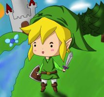 LoZ: Link by UrbanMay