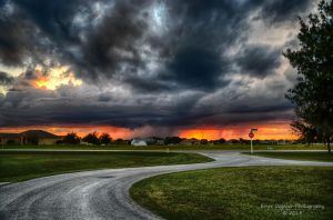 Rain Shadows Sunset 2 HDR v2 by eanimusic