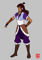 Full Body Adult Korra by chocowaffle