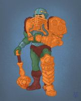 Masters of the Universe Man at Arms by Eyemelt