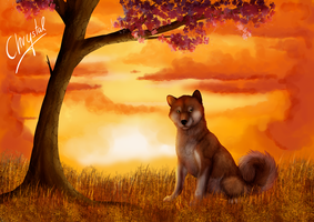 Inu by Chrystal-Art